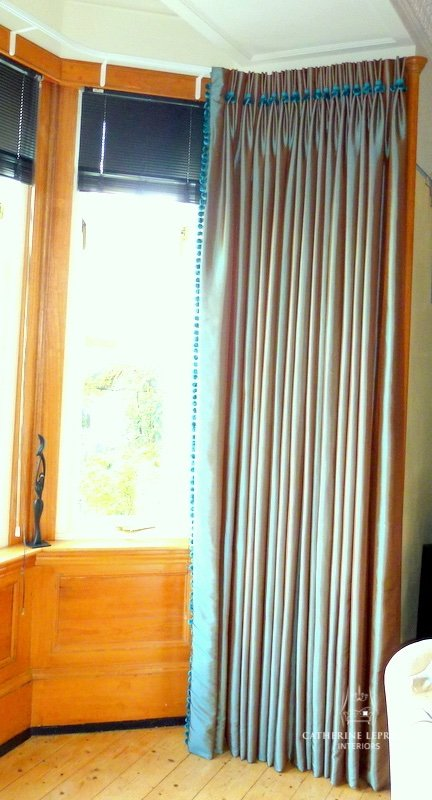 Case Study Interlined Curtains Catherine Lepreux Interiors