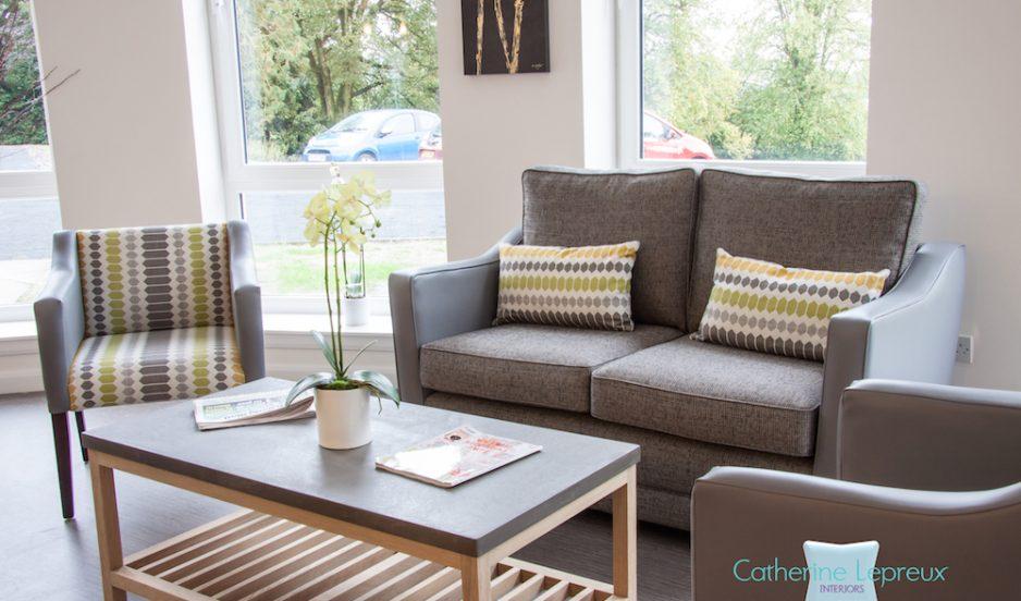 A nursing home interior design in Fife