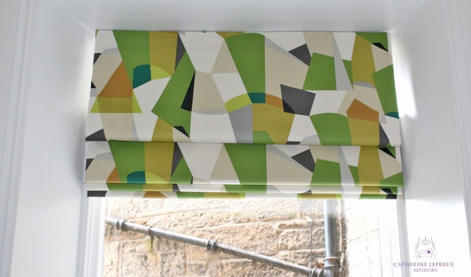The right curtains & blinds for an Edinburgh period flat