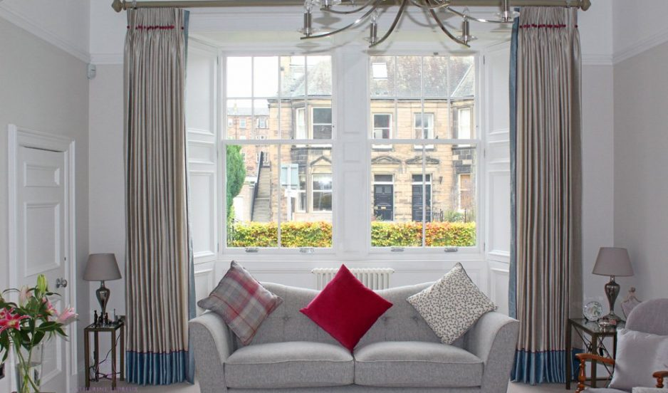 Timeless curtains & blinds for a period home in Morningside, Edinburgh