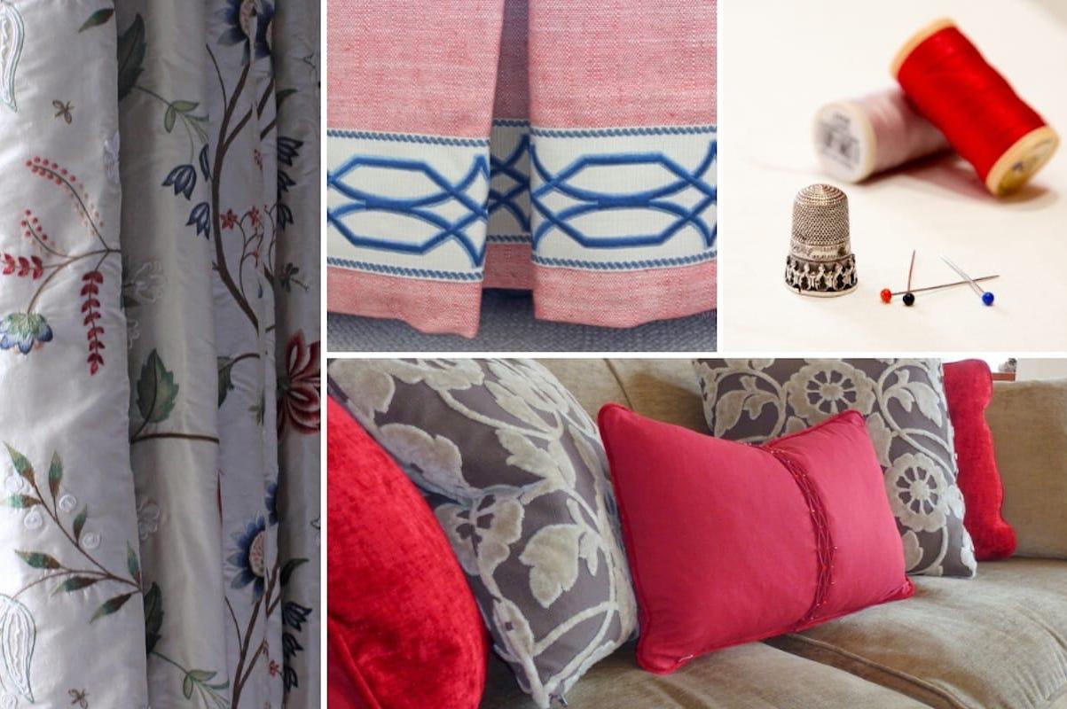 Professional curtain maker Edinburgh, Fife, St Andrews and Perth