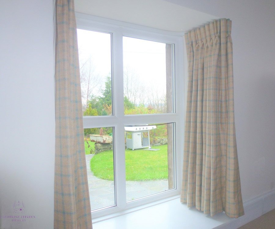 Tiny window: Curtains & Blinds for odd windows