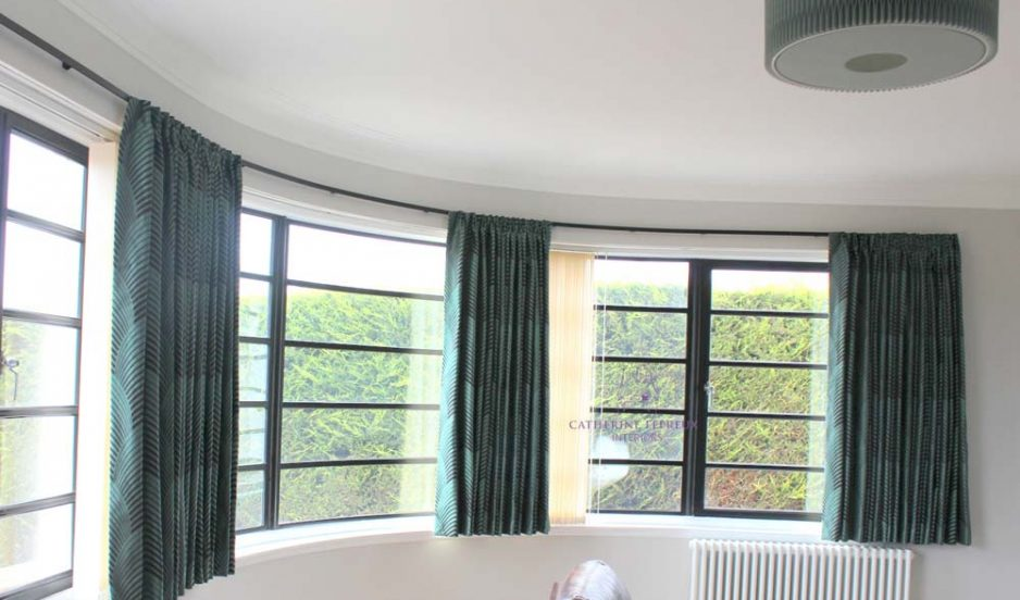 Curtains & blinds for unusual shaped windows