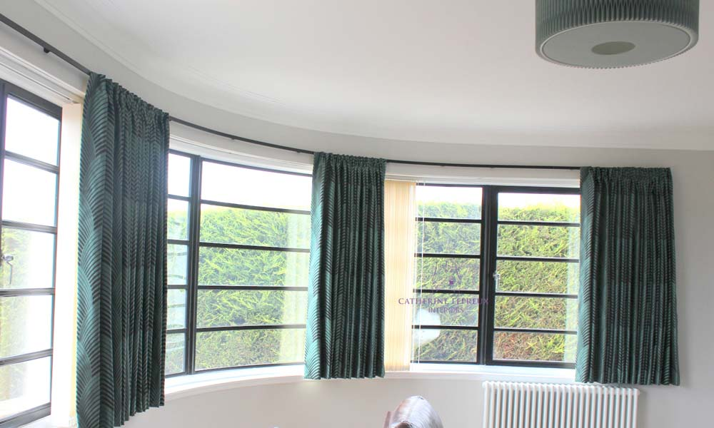 Bow window: Curtains & Blinds for Unusual Shaped Windows