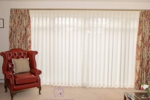 Bespoke voile curtains