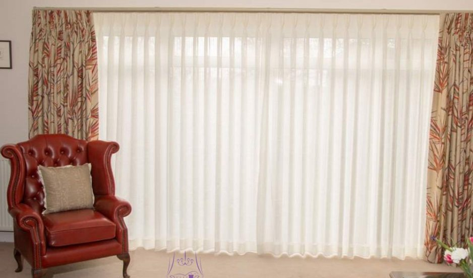 Bespoke voile curtains & blinds for privacy & sun protection