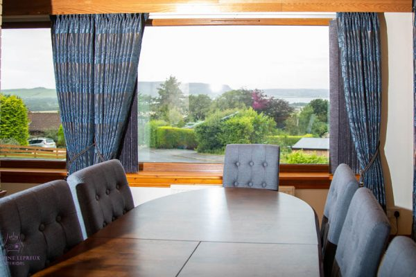 curtains and blinds for an 80s property in Perth & Kinross
