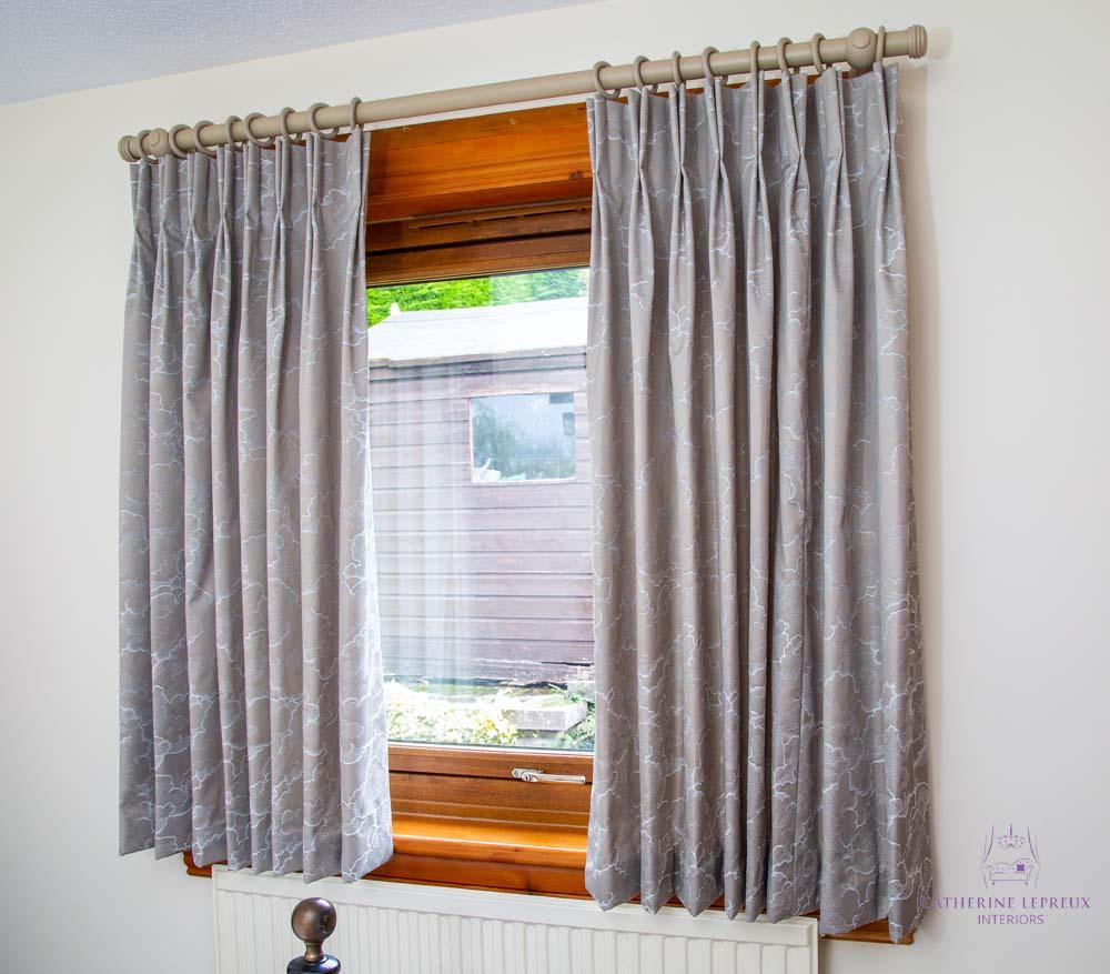 tricky windows short curtains over radiator