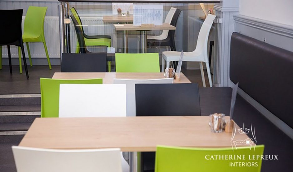 Contemporary café interior design in Linlithgow